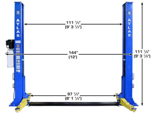 Apex 9bp Bottom Plate 9 000 Lbs Capacity 2 Post Above Ground Lift Ali Certified Lift Design Sls Free Products This Or That Questions