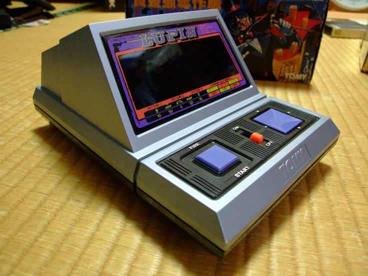 """Vintage Arcade Games >> Tomy """"Lupin (the 3rd)"""" electronic game 