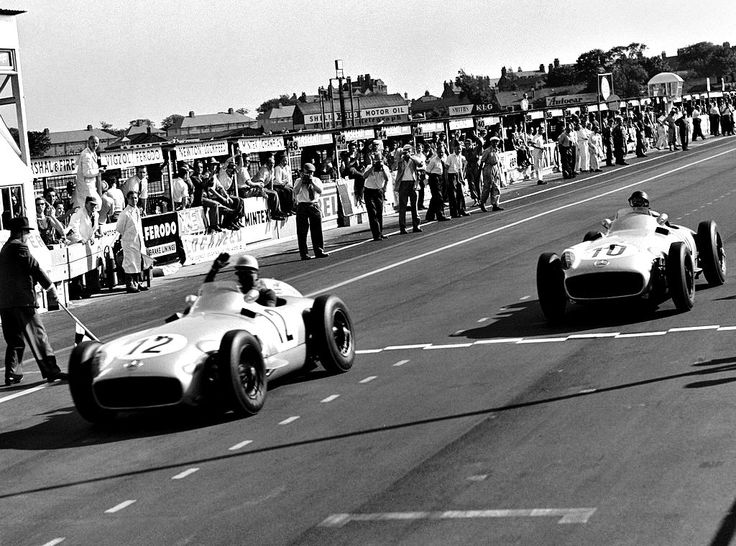 f1championship:   Stirling Moss and Juan Manuel Fangio