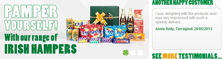 Send someone a Taste Ireland hamper
