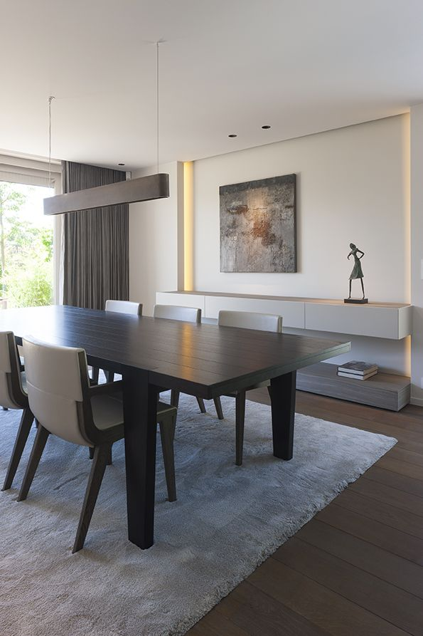 lighting over the dining table