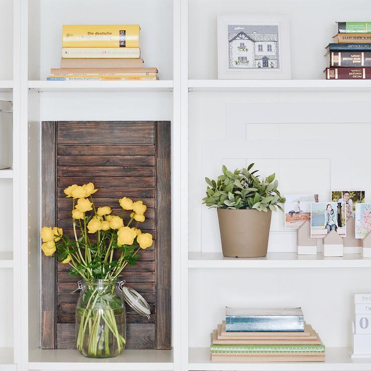 bookcase organization / организация книжных полок