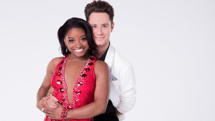 Simone Biles Paired With Sasha Farber For 'Dancing With The Stars'