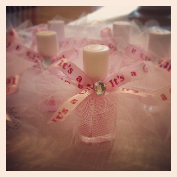 Tutu Nail Polish Party Favors