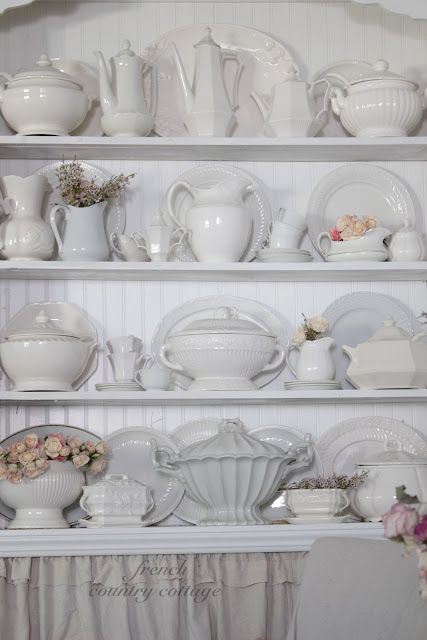 337 Best Images About White Ironstone On Pinterest