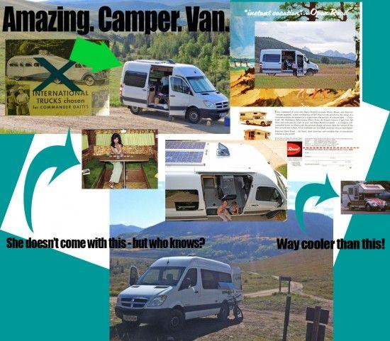 Amazing Sprinter Camper Van For Sale - Sprinter RV