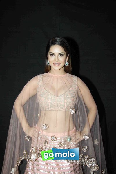 Sunny Leone at Designer Archana Kochhar's bridal collection preview in Mumbai