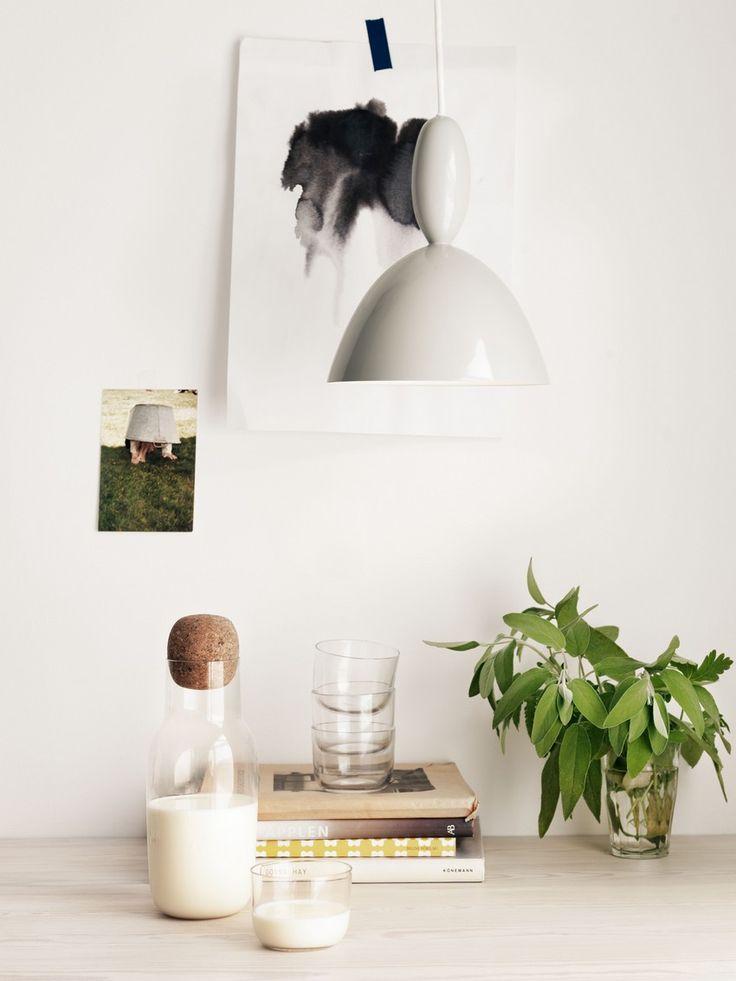 Muuto - Copenhagen based Danish manufacturer Muuto's Corky glass carafe designed by Oslo based Norwegian designer Andreas Engesvik.
