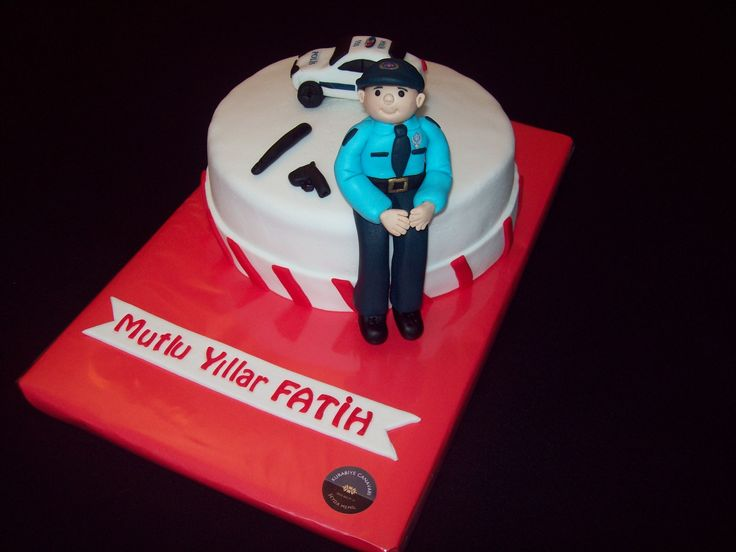 Policeman Cake Design : 39 best images about MY CAKES on Pinterest Owl cakes ...