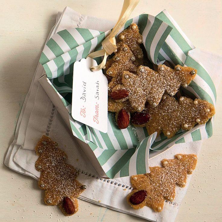 Christmas tree biscuits - MyKitchen