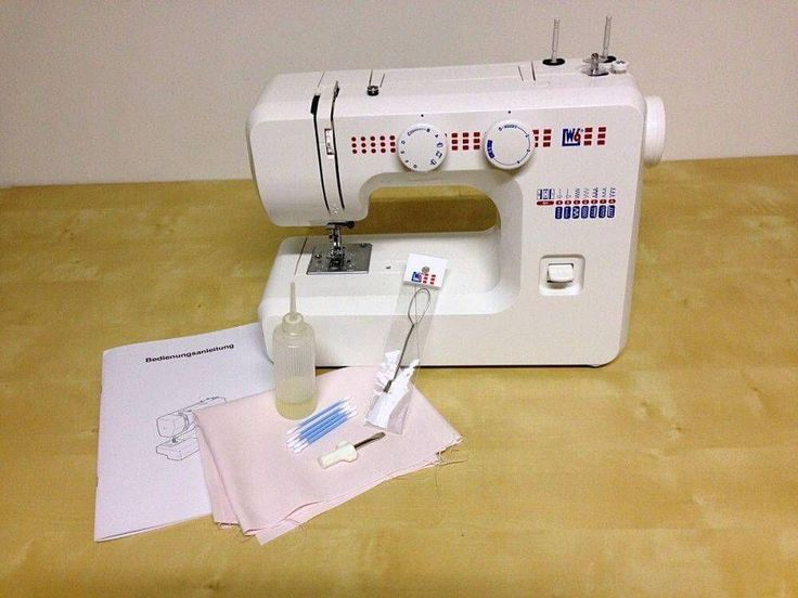 Nähmaschinenpflege - Nähmaschine Reinigen und Ölen
