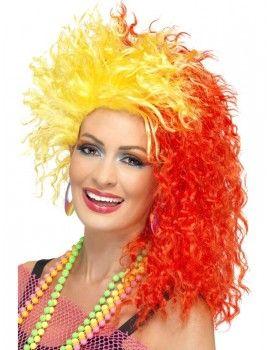80s Fun Girl Crimp Wig