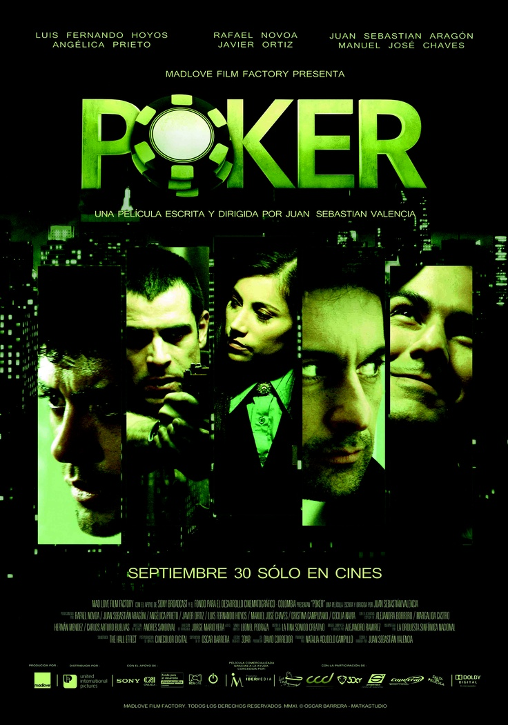 Póker, una película de la Semana del Cine Colombiano: http://www.mincultura.gov.co/semanadelcine/