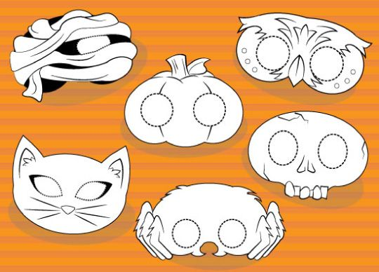 Create Your Own Halloween Mask