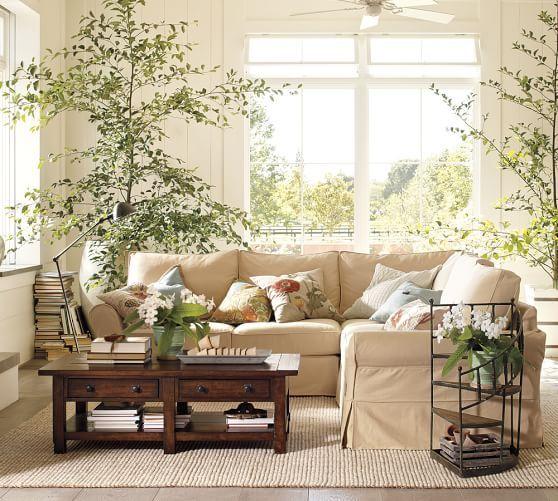 Formal Living Room Chunky Wool Jute Rug Natural Pottery Barn Again Natural Fibers Are
