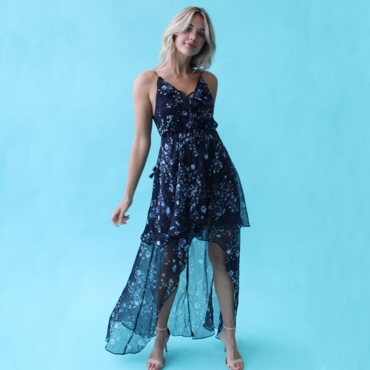 The Jetset Diaries - Tama Maxi Dress // Available to hire in sizes 8-12 for $69