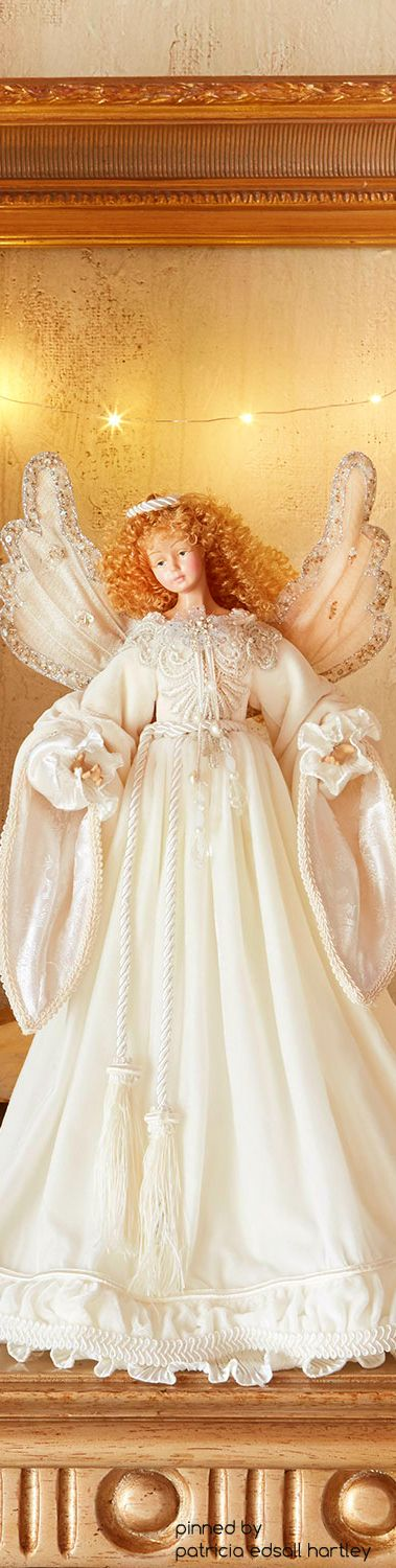 Katherine's Collection  Snow Queen Angel Tree Topper