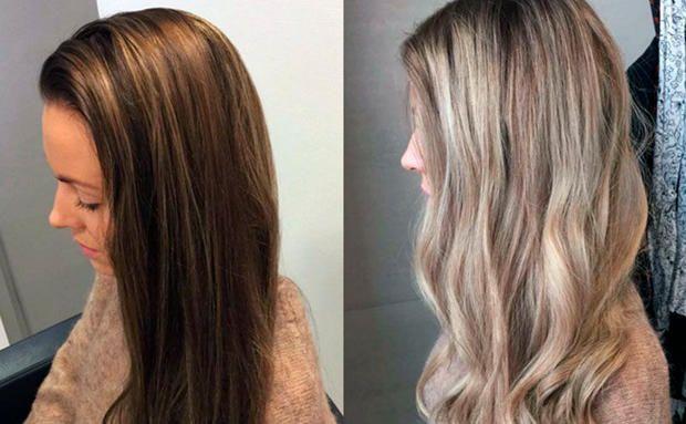 Oder haare dunkel hell Hilfe: Haare