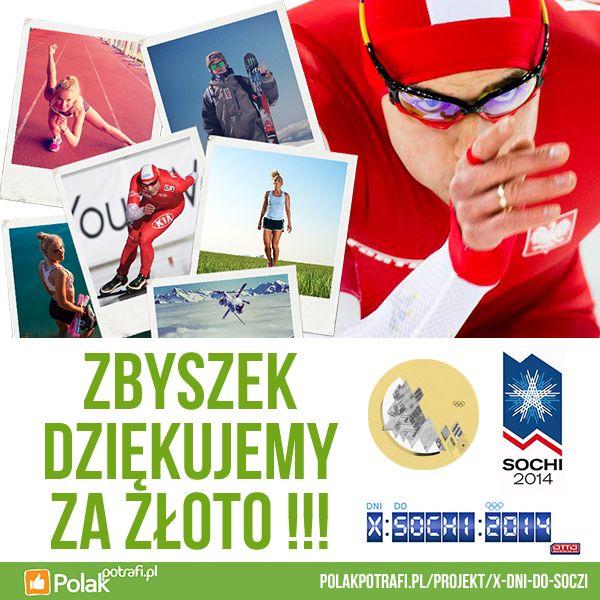 Zbyszek Bródka i pierwszy złoty medal na Igrzyskach faceta, który uczestniczył w projekcie crowdfundingowym na PolakPotrafi.pl! Projekt: http://polakpotrafi.pl/projekt/x-dni-do-soczi  #crowdfunding #crowdfundinhpl