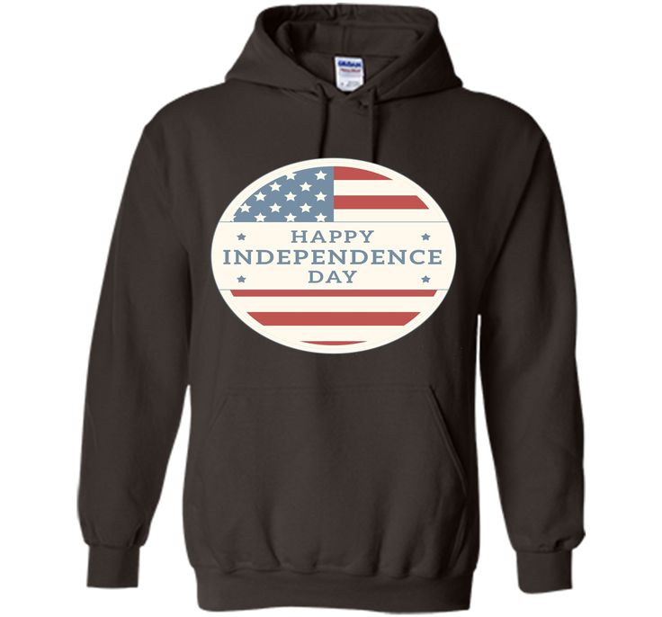 Happy Independence Day American Flag T-Shirt