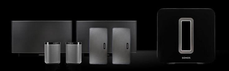 Sonos Wireless HiFi Music Systems