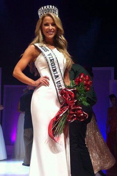 Shannon Bream Miss Virginia Bikini