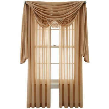 Marthawindow Flutter Window Treatments Found At Jcpenney Living Room Curtain Ideas
