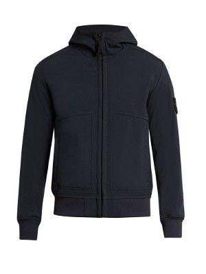 Soft Shell-R hooded bomber jacket | Stone Island | MATCHESFASHION.COM UK