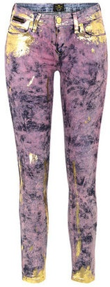 ShopStyle: Vivienne Westwood Anglomania x Lee LV091FNM Hippie Pink Monroe Jegging