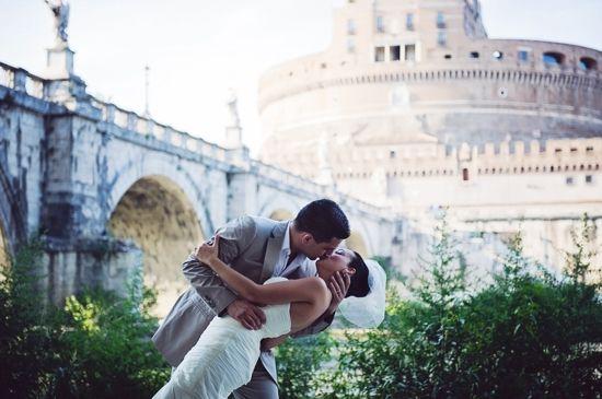 Burcu & Erdincs Enchanting Rome Elopement by Rochelle Cheever