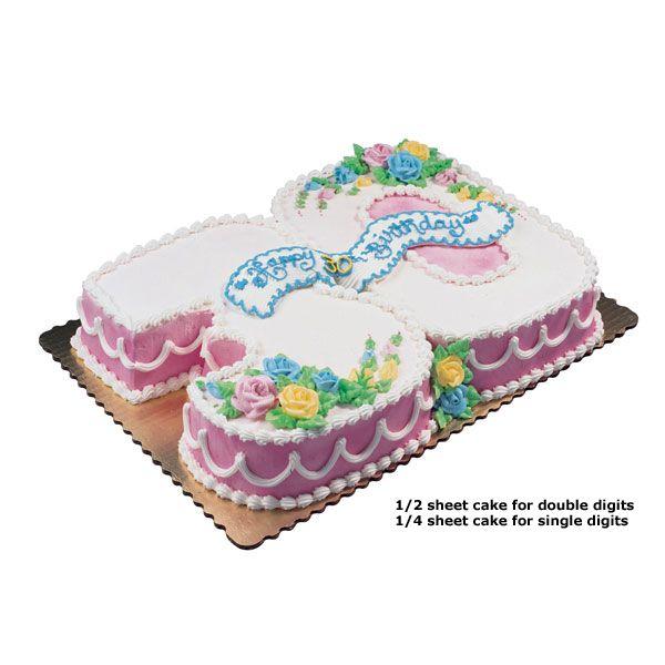 Publix Number Cake