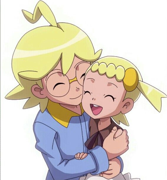 Clemont and Bonnie♥ Love this picture
