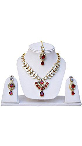 VVS Jewellers Red Stone Indian Bollywood Gold Plated Ethn... https://www.amazon.com/dp/B071NF9N26/ref=cm_sw_r_pi_dp_x_xaefzbTMXJ1ZE