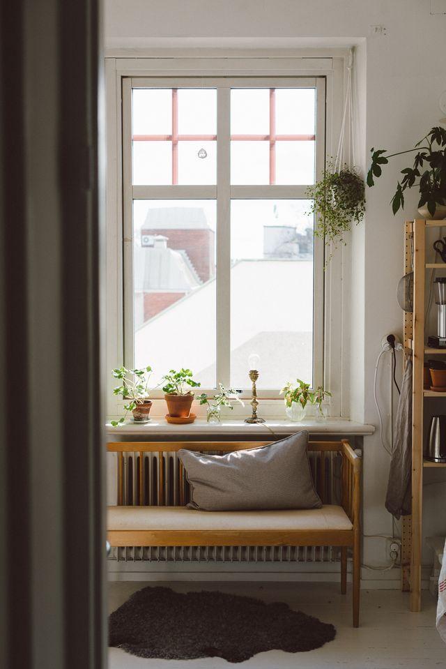 En liten kökssoffa och besök i Borås