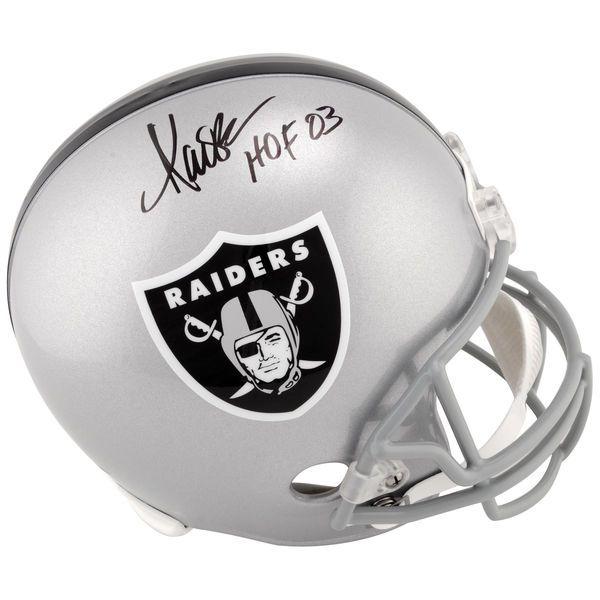 "Marcus Allen Los Angeles Raiders Fanatics Authentic Autographed Replica Helmet with ""HOF 03"" Inscription - $329.99"