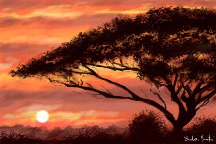paesaggio africano