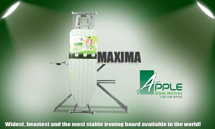 Widest and most stable Ironing Board - Apple Style Homes