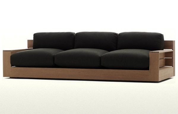 Best 25 wooden sofa designs ideas on pinterest wooden for Sofa exterior marbella
