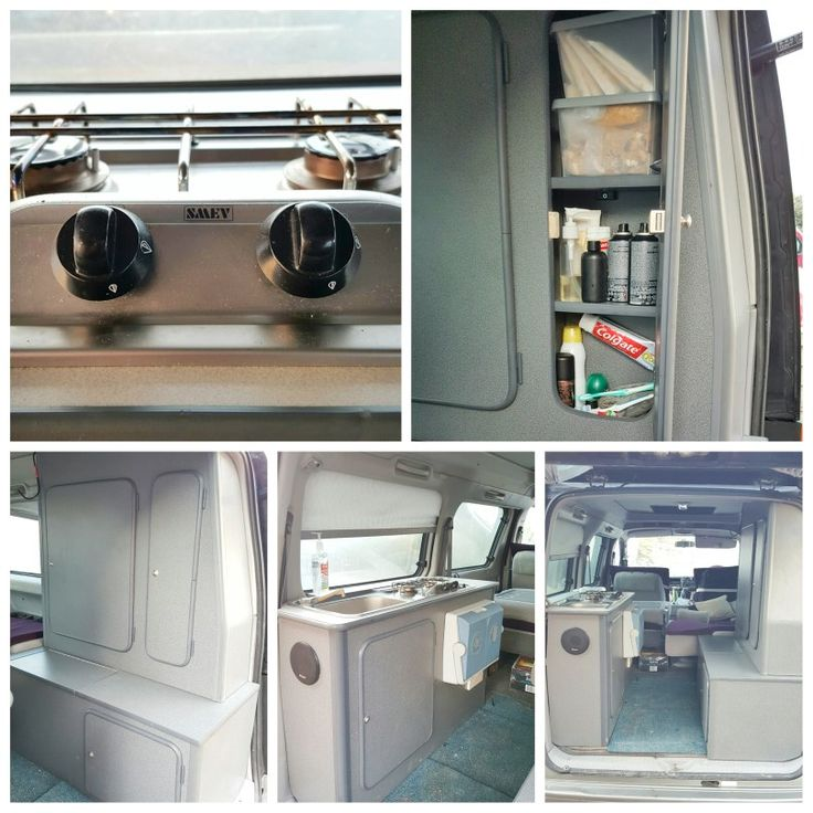 The Mazda Bongo Campervan Kitchen Tour