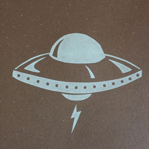 Print of the Day #3 UFO!