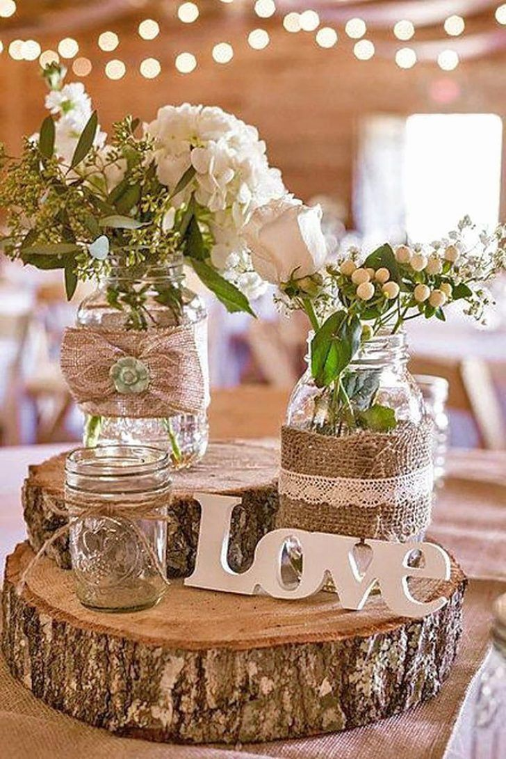 Country style wedding decorations country themed wedding reception ideas in  2020 | Barn wedding decorations, Rustic wedding centerpieces, Fall barn  wedding decorations