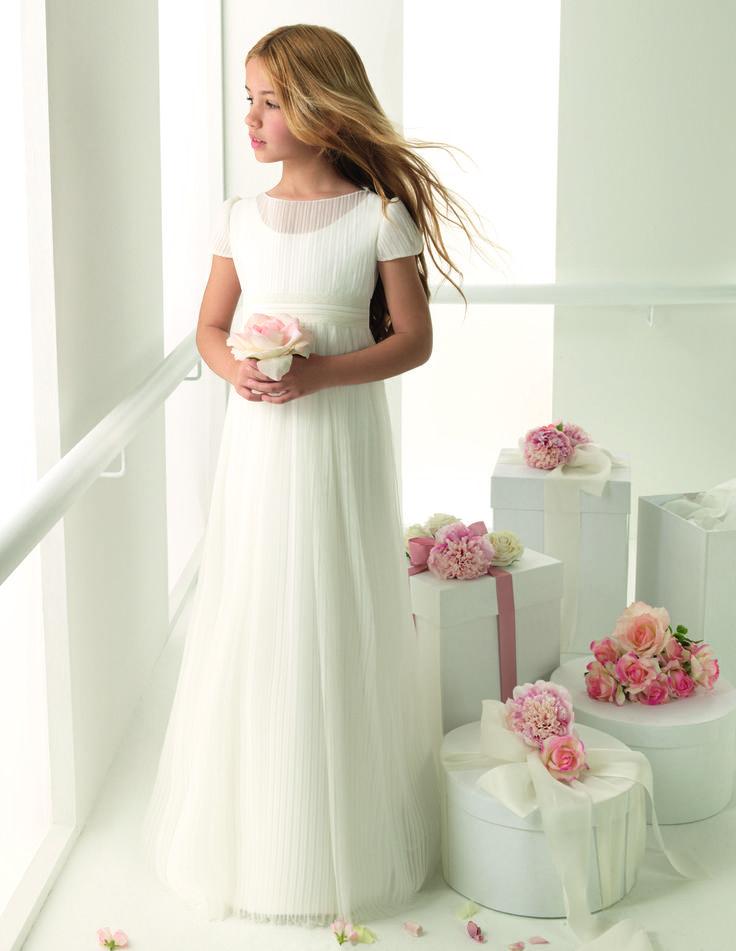 Rosa Clará First- Ainhoa #flowergirl #pajes #tendenciasdebodas