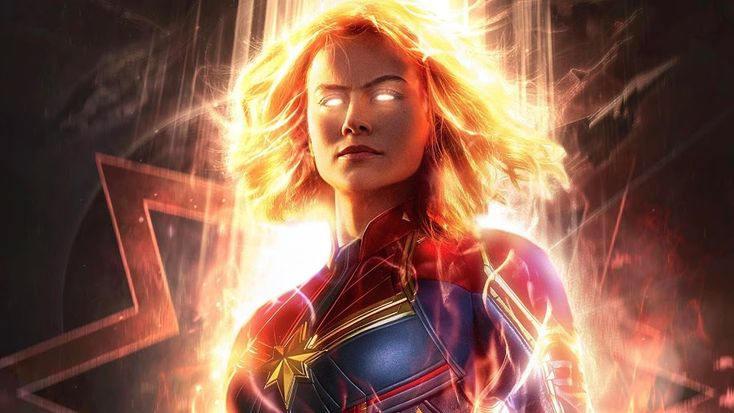 Captain Marvel, Movie, Brie Larson, 4K, #2 Wallpaper for Desktop, Laptop, iMac, ...