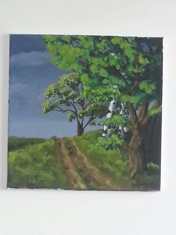 Před bouří-maloval syn