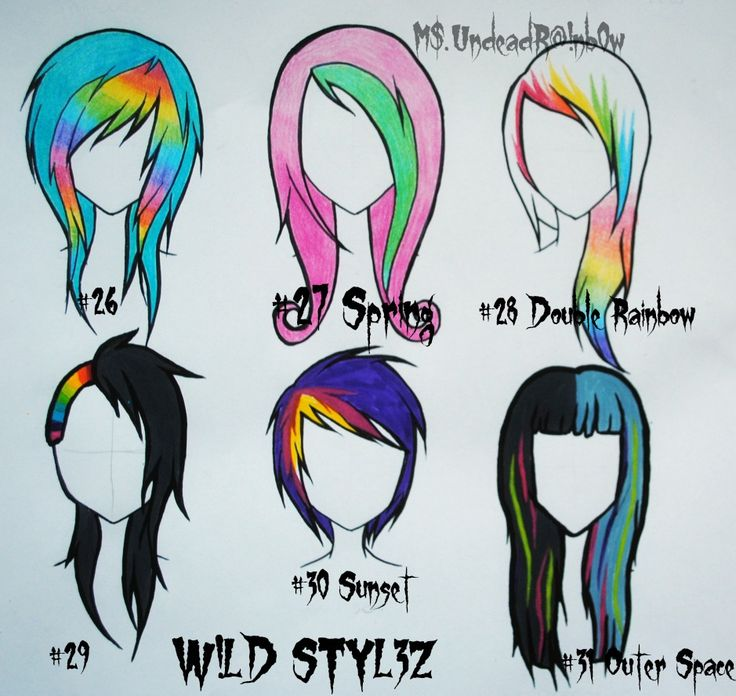 Wild Styles Part 4 by Rainb0w-Rand0m.deviantart.com on @deviantART