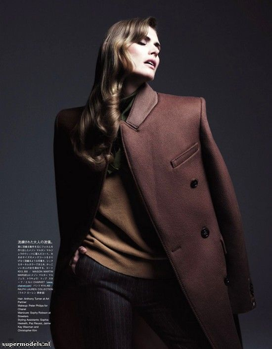 Malgosia Bela in 'Dedicated To Nuance' - Photographed by Willy Vanderperre (Vogue Japan December 2012)    Complete shoot after the click...