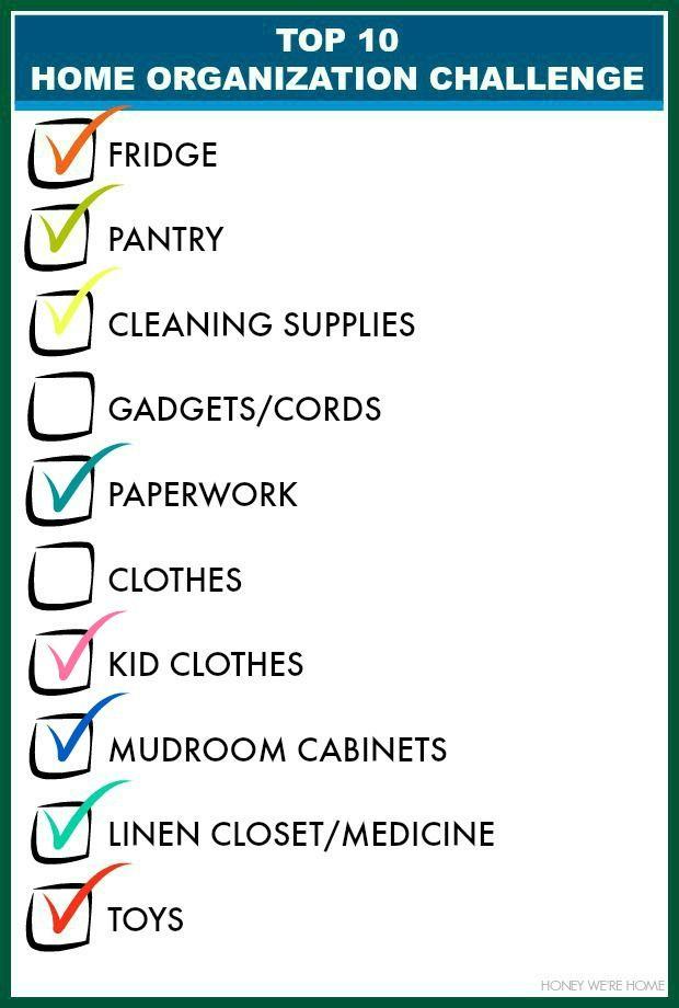 Top 10 Organizing Challenge   Organized Kid Closet