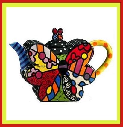 Romero Britto Teapot