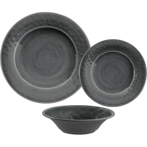 12-Piece Wendy Melamine Dinnerware Set   Joss & Main