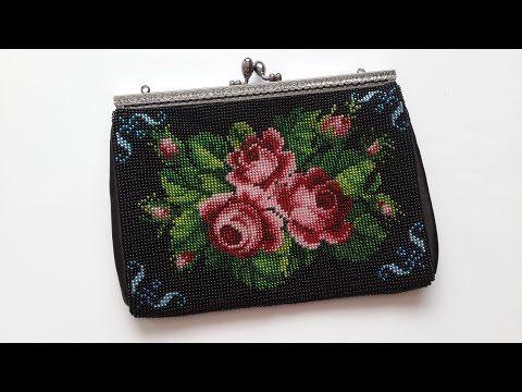 Handbag beaded. Master Class. - YouTube